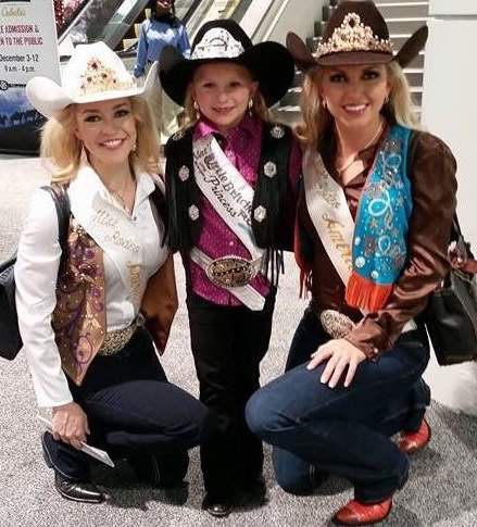 Katherine Merck, Little Britches Princess and Lauren Heaton