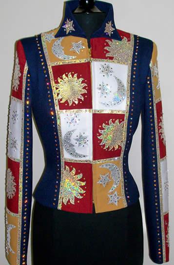 Royal Blue Leather Jacket
