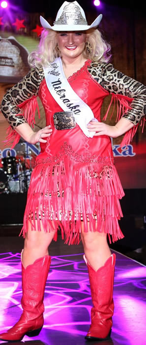 Miss Rodeo Nebraska 2016, Emily Taylor