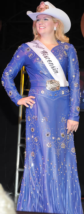 Sara Fuchs, Miss Rodeo Wisconsin 2011