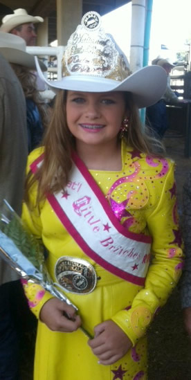 Shelbie Rice, National Little Britches Princess 2012