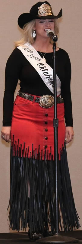 Sydney Spencer, Miss Rodeo Oklahoma